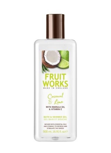 Fruit Works Coconut & Lime Duş Jeli 500 ml Renksiz